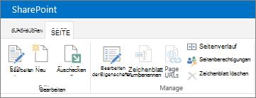 SharePoint 2013 – Menüband in der oberen linken Bildschirmecke
