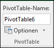 "Umbenennen einer PivotTable über ""PivotTable-Tools"" > ""Analysieren"" > Feld ""PivotTable-Name"""