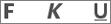 "Symbole ""Fett"", ""Unterstrichen"", ""Kursiv"""