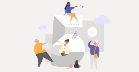 Fünf Dinge, die Sie als Erstes mit der kostenlosen Version von Microsoft Teams tun können