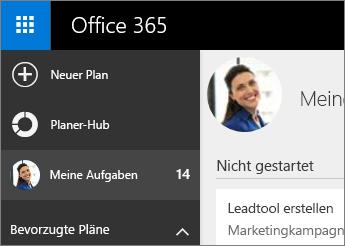 """Planner-Hub und """"Meine Aufgaben"""""""