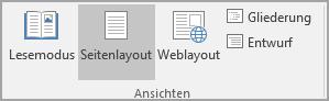 """Auf """"Drucklayout"""" klicken"""