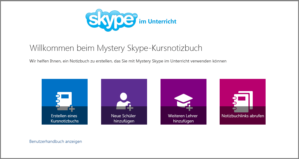 Willkommen bei Mystery Skype