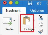 """Symbol """"Einfügen"""""""
