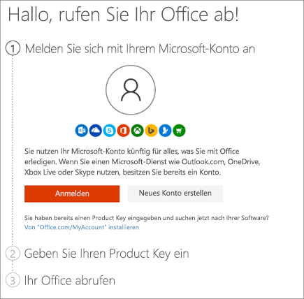 office 2016 download mit product key
