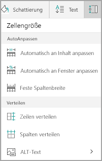 Windows Mobile: Optionen für AutoAnpassen