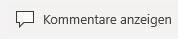 """Die Schaltfläche """"Kommentare anzeigen"""" in PowerPoint Mobile für Windows 10."""