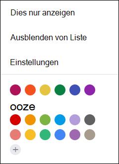 Wählen Sie in Ihrem Google Calendar Einstellungen aus.
