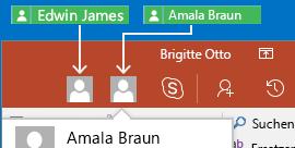 Zusammenarbeit in Echtzeit in PowerPoint für Android