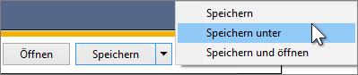 """Gmail - """"Kontakte exportieren"""", """"Speichern unter"""""""