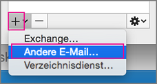 Andere E-Mail
