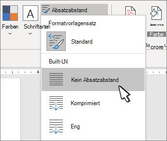 Festlegen eines einzelnen Speicherplatzes für ein Dokument