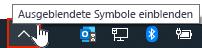 OneDrive-App auf der Taskleiste