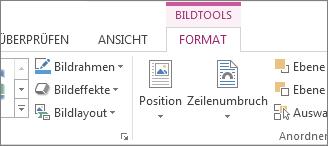 Registerkarte 'Bildtools'