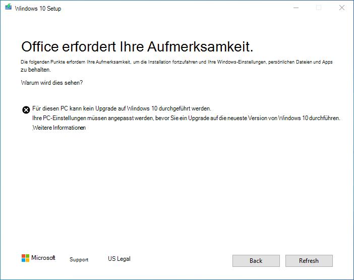 "Screenshot des Dialogfelds ""Halteschutz"""