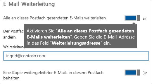 Fügen Sie die E-Mail-Adresse des aktuellen Mitarbeiters hinzu.