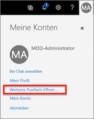 Office 365-Konten