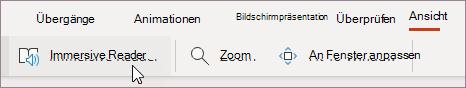 """Auswählen Plastischer Reader Im Menü """"Ansicht"""""""