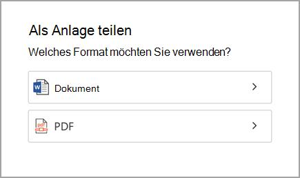 Dokument oder PDF