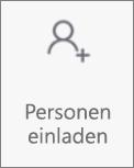 """Schaltfläche """"Personen einladen"""" in Onedrive für Android"""