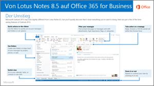 Miniaturansicht für den Leitfaden zum Umstieg von IBM Lotus Notes auf Office 365