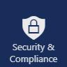 Sicherheits- und Compliance-App im Office 365-App-Menü