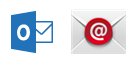 Outlook-App und integrierte Mail-App für Android