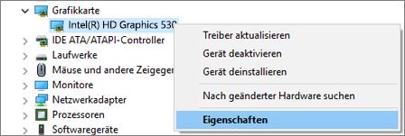 Wechseln Sie zum Windows-Geräte-Manager, um Ihre Grafikkartentreiber zu verwalten.