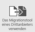 Verwenden der Migrationstools eines Drittanbieters zum Migrieren von Postfächern in Office365