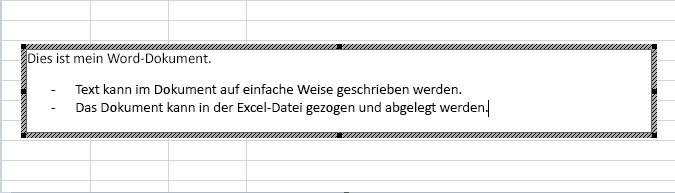 Dieses eingebettete Objekt ist ein Word-Dokument.