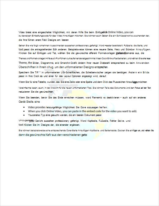 Beispiel für ein Dokument mit einem Bildwasserzeichen