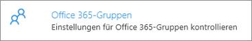 Office 365-Gruppen