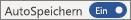 """AutoSpeichern-Schalter in der Position """"Ein"""""""