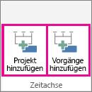 MultipleTimelines02 - Projekt hinzufügen