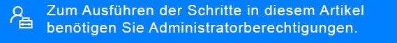 Klicken Sie hier, um herauszufinden, wer Ihr Administrator ist