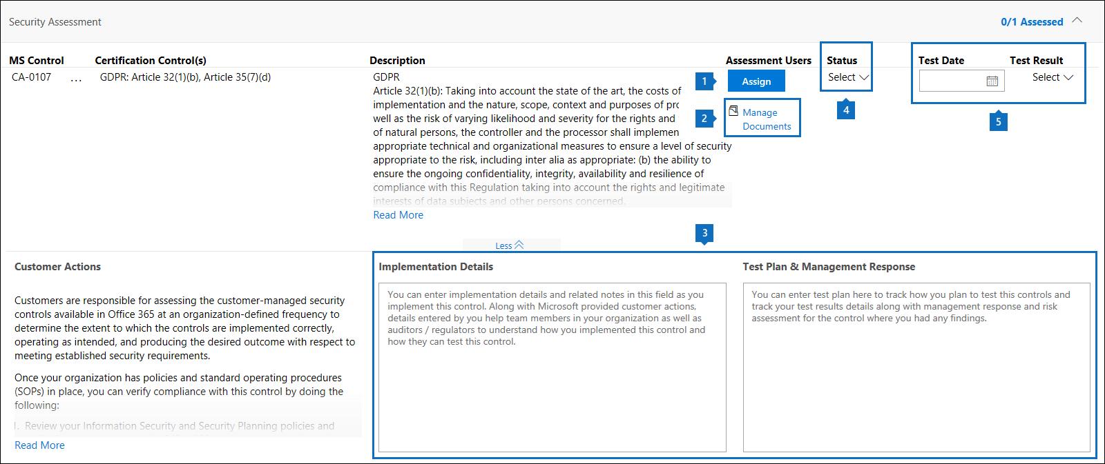 Die Workflowverwaltungsfeatures in einem vom Kunden verwalteten Steuerelement