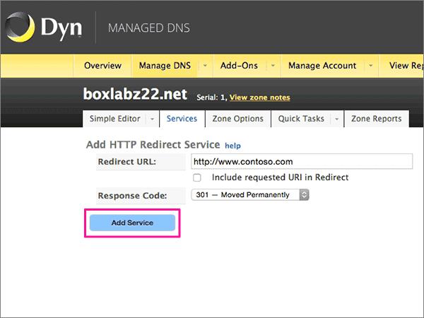 DynManageDNS-BP-Redirect-1 bis 6
