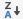 "Symbol ""Absteigend sortieren"""
