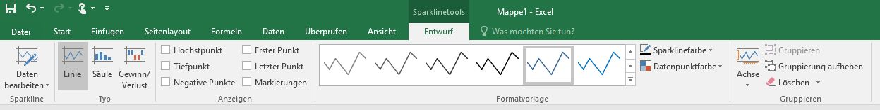 Sparklines-Tools