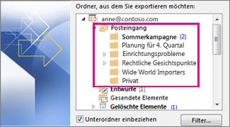 E-Mail-Ordner