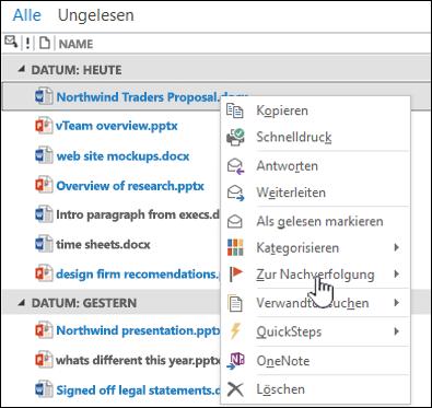 Weiterleiten eines Dokuments aus dem Websitepostfach