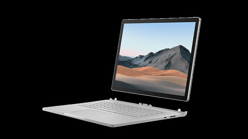 Surface Book3-Gerätewiedergabe