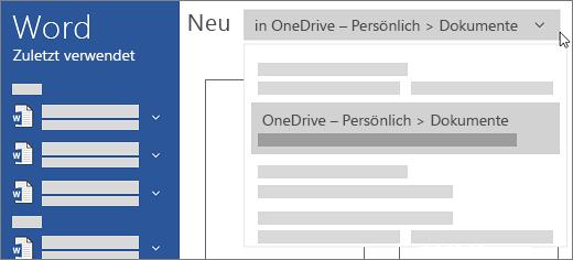 Neues OneDrive