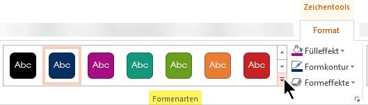 Der Formformatvorlagen-Katalog