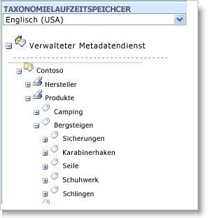 Verwalten von Metadaten