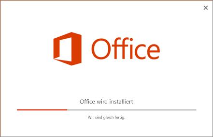 Der Office Installer vermittelt den Eindruck, als würde Office installiert, installiert wird jedoch Skype for Business.