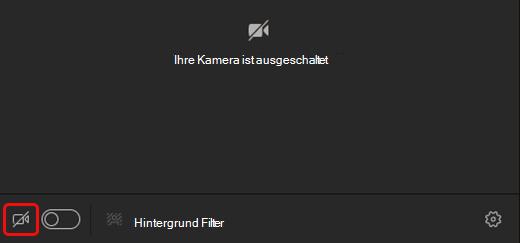 Kamerasymbol auswählen, um die Kamera zu aktivieren