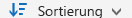 """OneDrive for Business-Schaltfläche """"Sortieren"""""""