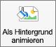 """Zeigt die Schaltfläche """"Als Hintergrund animieren"""" auf der Registerkarte """"Bildformat"""" in PowerPoint für Mac"""