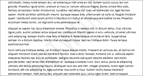 Hero image of a text watermark in Word